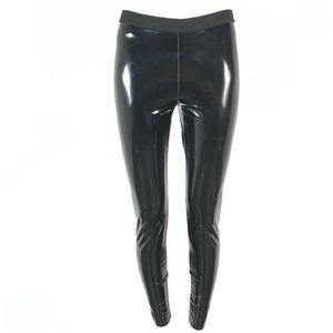 Hue patent leather leggings